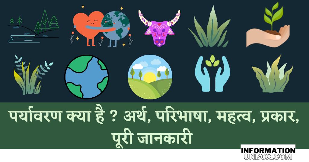 पर्यावरण क्या है